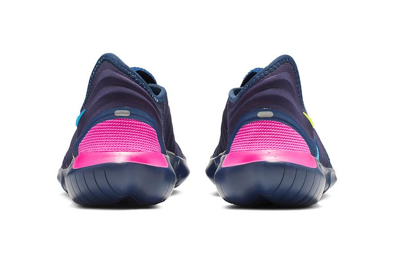 11e0adae6d54b Nike Free RN Flyknit 3.0 Midnight Navy Volt Style Code AQ5707-400