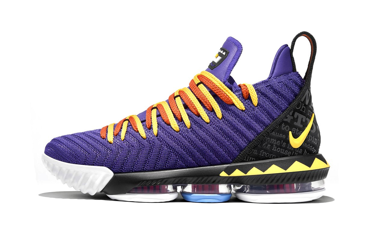 Nike Lebron 16 Martin Colorway Release