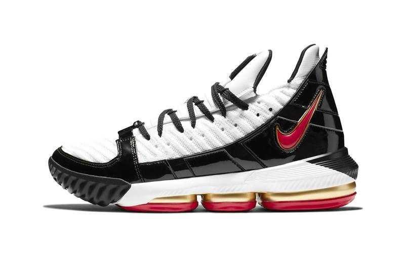 Nike LeBron 16 Remix Release Info CD2451-101 Black White Red