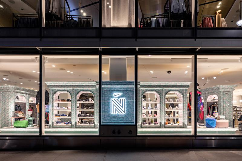 Nordstrom x Nike Launch Their First Men's Sneaker Boutique in NYC