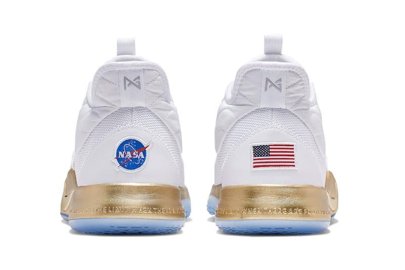 Nike PG 3 NASA Apollo Missions Release Info Paul George CI2666-100 white gold