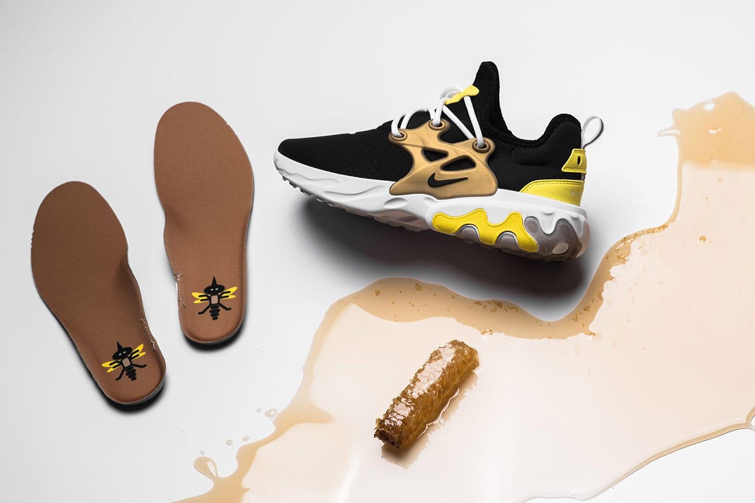 Nike Presto React Brutal Honey Colorway