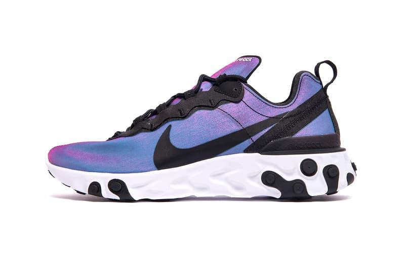 Nike React Element 55 Sunrise and Sunset Pack Release Info  BQ9241-001 BQ9241-002