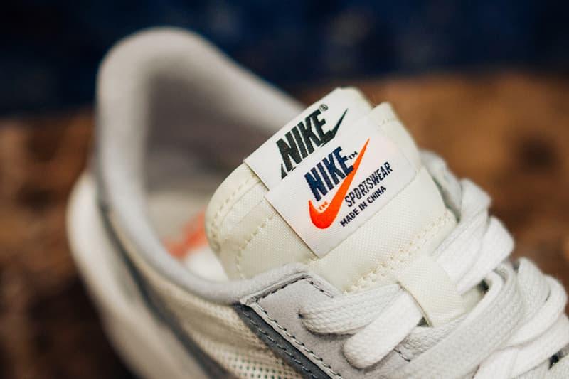 sacai x Nike LDV Waffle Daybreak Blazer White/Grey Colorway Cop Purchase Buy Sneakers Trainers Kicks Footwear