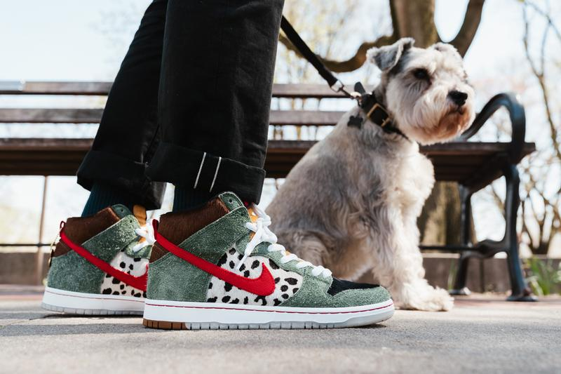 Nike SB Dunk High Walk the Dog Closer Look 4/20 Release HYPEBEAST