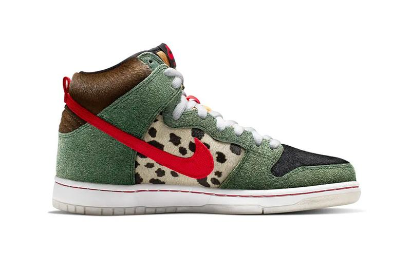 nike sb dunk high walk the dog colorway sneaker release