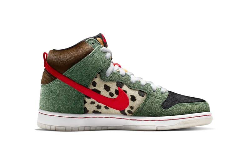 nike sb dunk high walk the dog colorway sneaker release