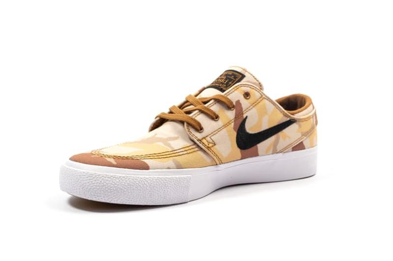 ecc2ea15589e Nike SB Zoom Janoski Canvas Premium RM Release foot district date drop  product info camouflage Desert