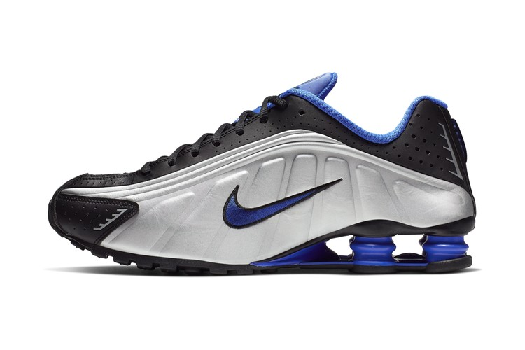 check out 5425f bbc08 Nike Releases the Shox R4 in Racer Blue   Metallic Silver