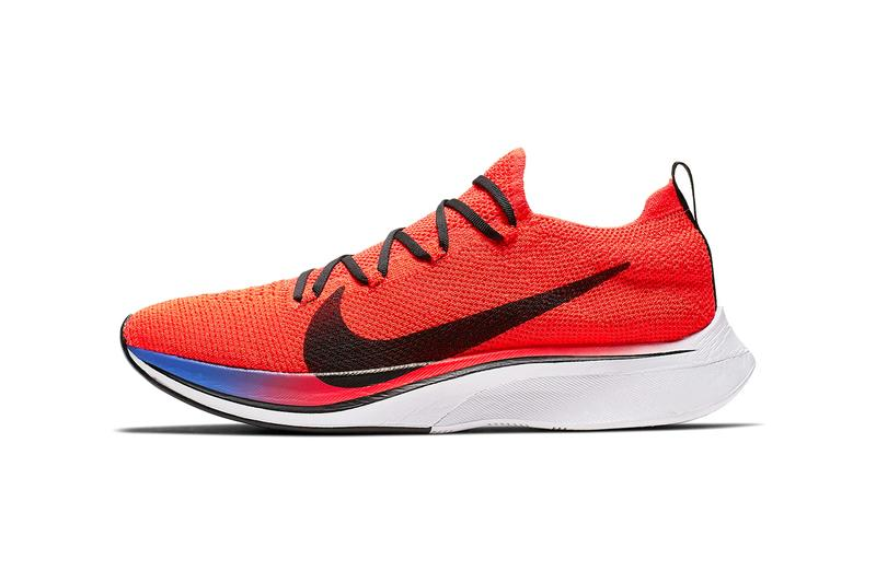 5caf12c59c3b3 nike vaporfly 4 flyknit bright crimson sapphire white black release
