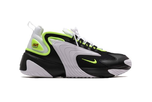 "Nike's Zoom 2K Electrifies in ""Black/Volt/White"""