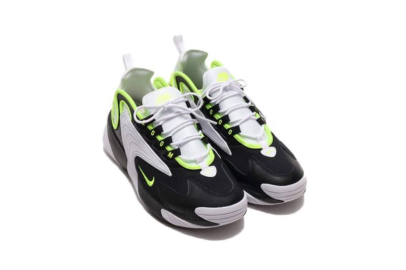 "Nike Zoom 2K ""Black/Volt/White"" Colorway Release drop info buy summer 2019 ao0269-004"