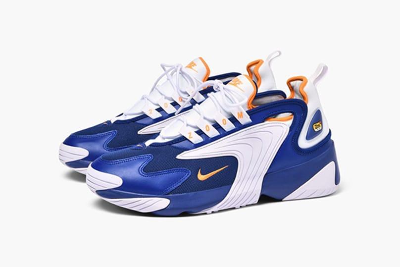 Nike Zoom 2 Deep Royal Blue Orange Peel