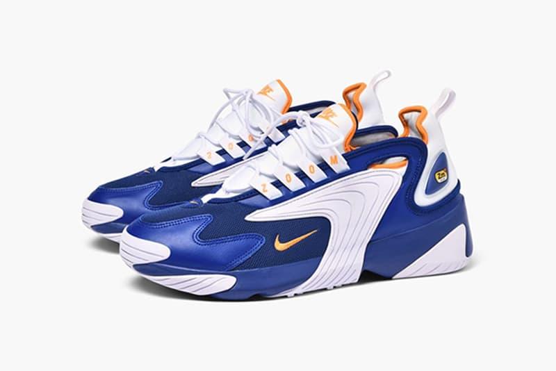 Nike Zoom 2 Deep Royal Blue Orange Peel Release sneakers retro OG kicks footwear basketball zoom air