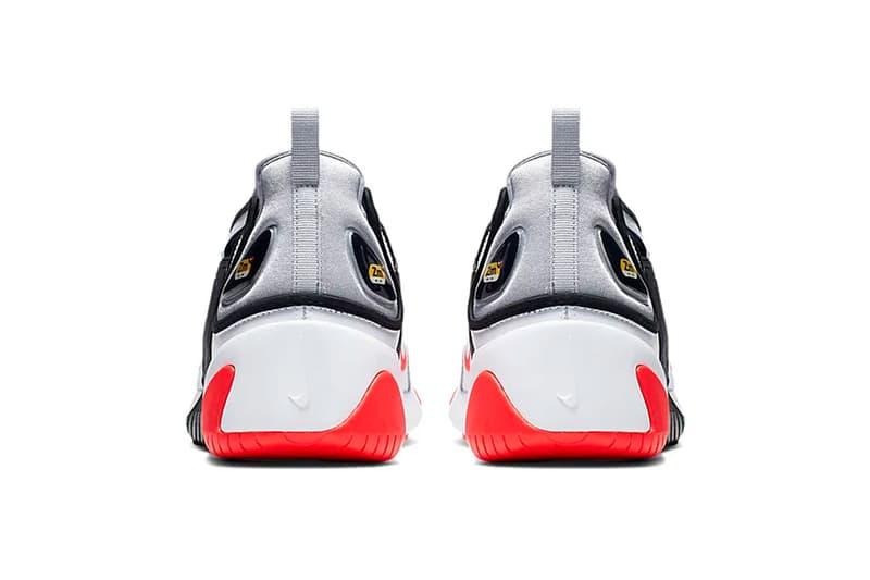 nike zoom 2k wolf grey infared 23 sneaker release