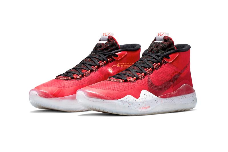 Nike Zoom KD12 University Red/Black Release Kevin Durant