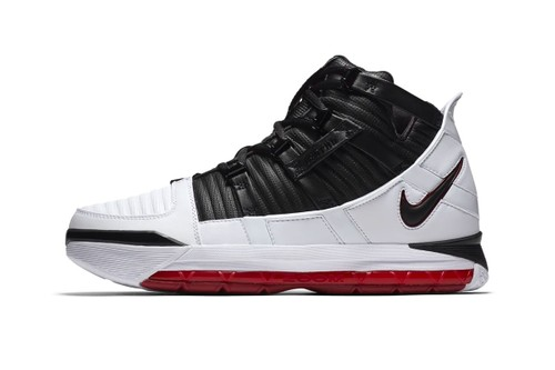 "The Nike Zoom LeBron 3 Returns in Its Iconic ""Home"" Colorway"