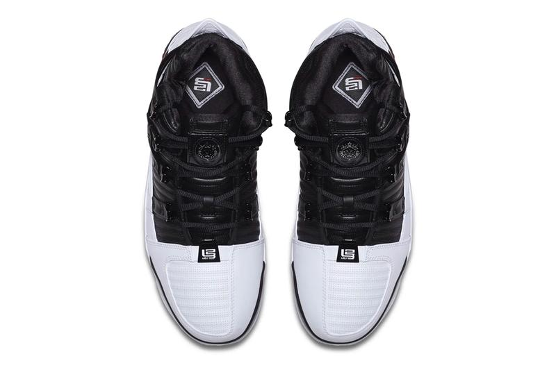 Nike Zoom LeBron 3 Home Release Info AO2434-101 Black White Red