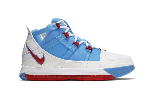 "2006's Nike Zoom LeBron 3 ""Houston Oilers"" Gets a Quickstrike Release"