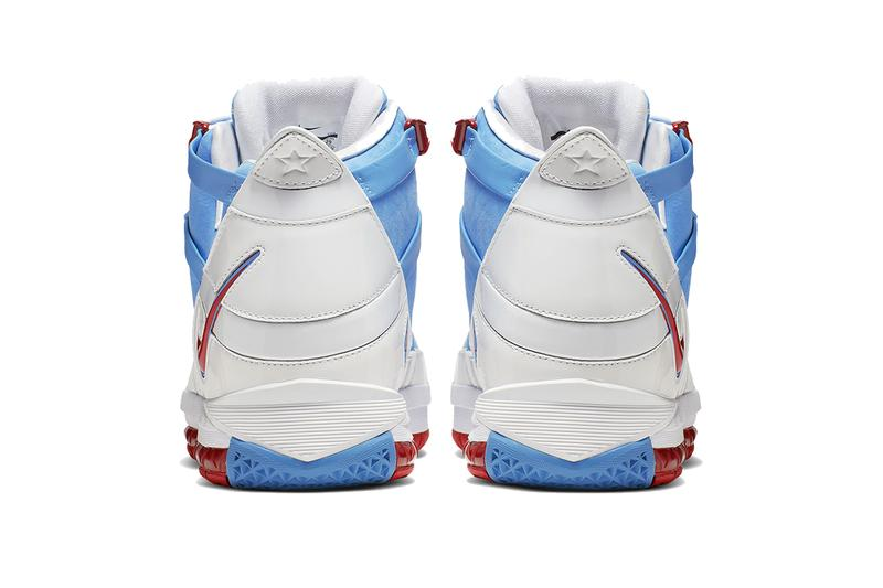 Nike Zoom LeBron 3 Houston Oilers texans warren moon rich paul AO2434-400 Release 2006 nba all star game mvp university blue white red