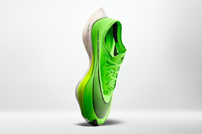 Nike ZoomX Vaporfly NEXT% Sneaker Info Shoes Trainers Kicks Sneakers Footwear Cop Purchase Buy Closer First Look Eliud Kipchoge Mo Farah Shalane Flanagan
