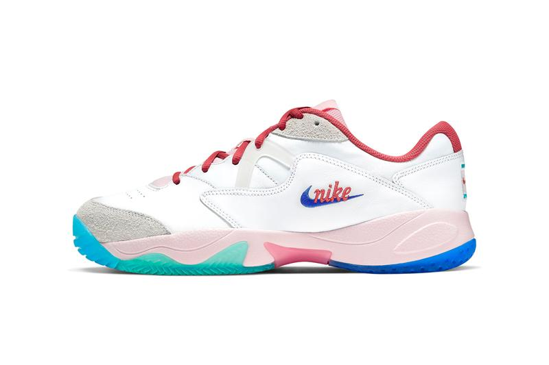 Nikecourt Lite 2 Pink Foam & White Sail Release tennis Serena Williams Roger Federer