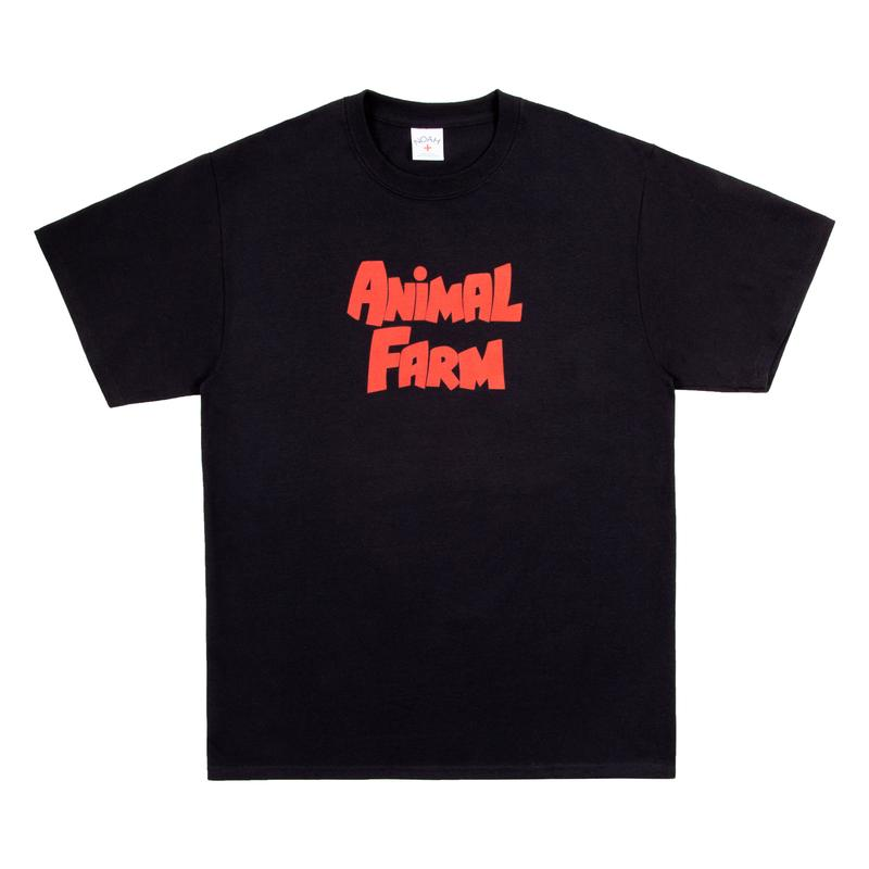 NOAH NYC Animal Farm Capsule Collection SS19 Spring Summer 2019 George Orwell Fictional Political Novel Pigs Logo Graphic Heavy Drop Release Dover Street Market London Buy Now Information