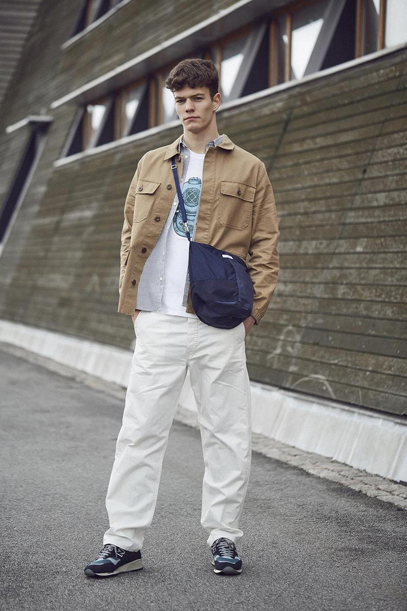 Norse Store Mens Editorial Spring Summer 2019 SS19 Dries Van Noten Margaret Howell Comme des Garcons SHIRT visvim Salomon Needles Norse Projects Junya Watanabe MAN