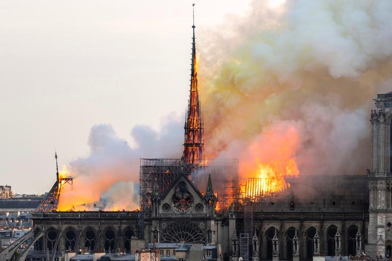 Notre Dame Cathedral Main Structure Saved From Fire Paris Artworks