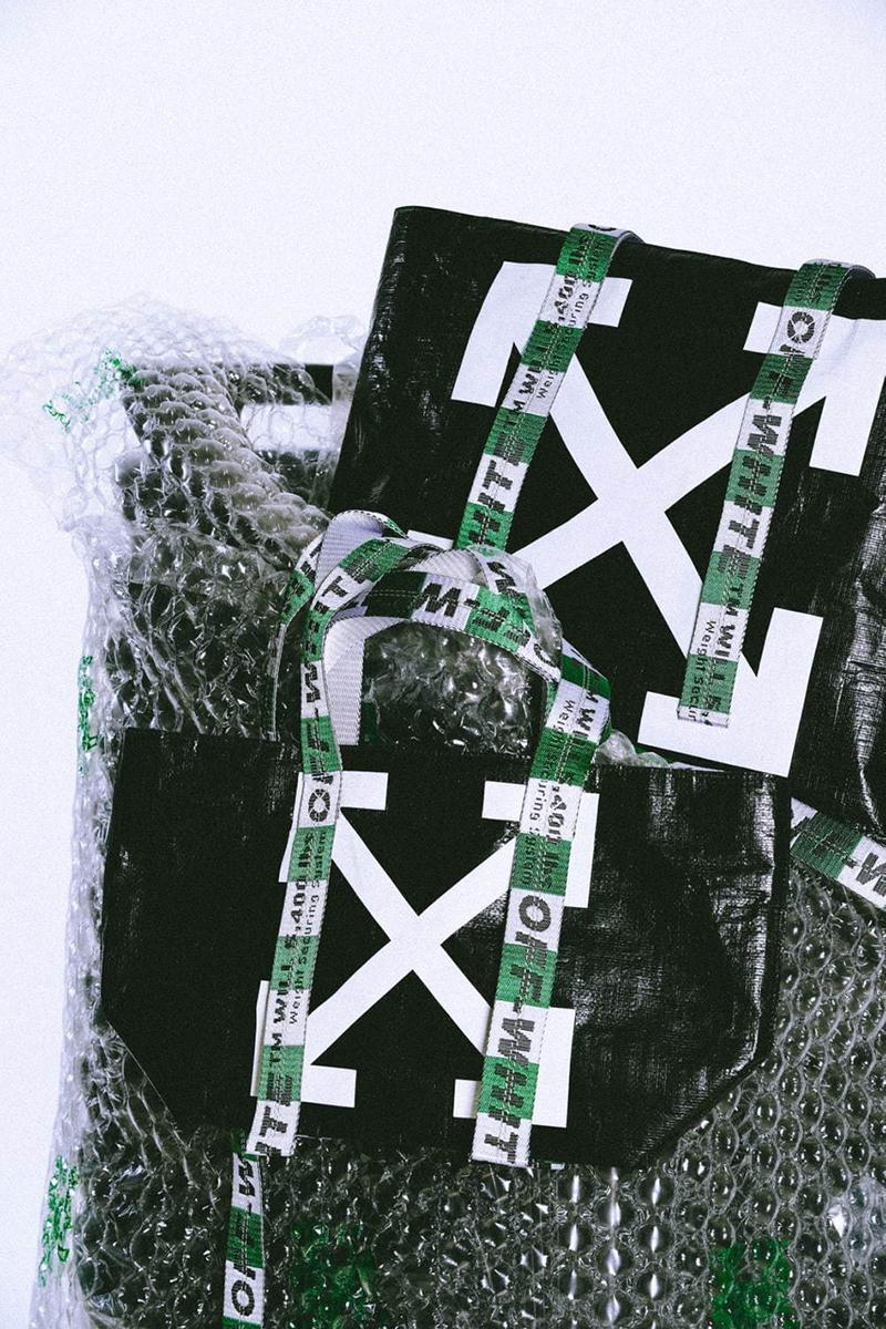 Off-White™ for Isetan Shinjuku Bags and Wallets exclusive release date info drop may 1 2019
