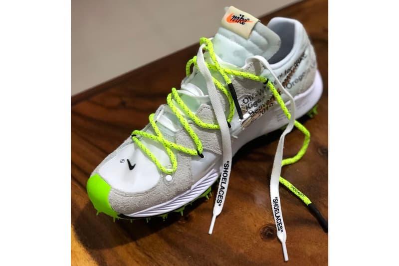 Off-White™ x Nike 2019 Sneakers, Better Look Virgil Abloh Coachella white grey glow in the dark neon green yellow swoosh