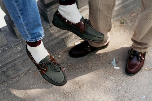 e4ae8371 Oi Polloi Looks to the Archives for Sebago Deck Shoe Collaboration