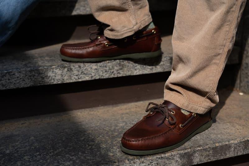 Oi Polloi x Sebago Portland Deck Shoe Collaboration Spring Summer 2019 SS19 Release Information Drop Date London Manchester Footwear Schooner Sole Docksides