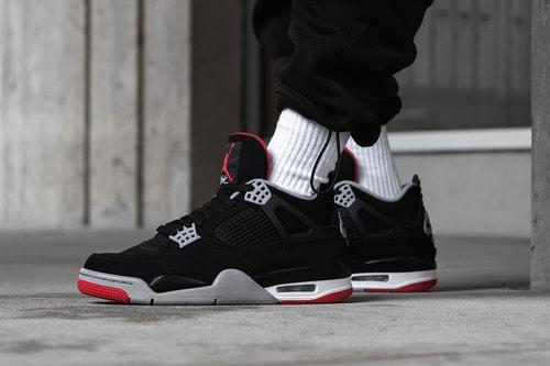 "On-Feet With Air Jordan 4 Retro OG ""Bred"""
