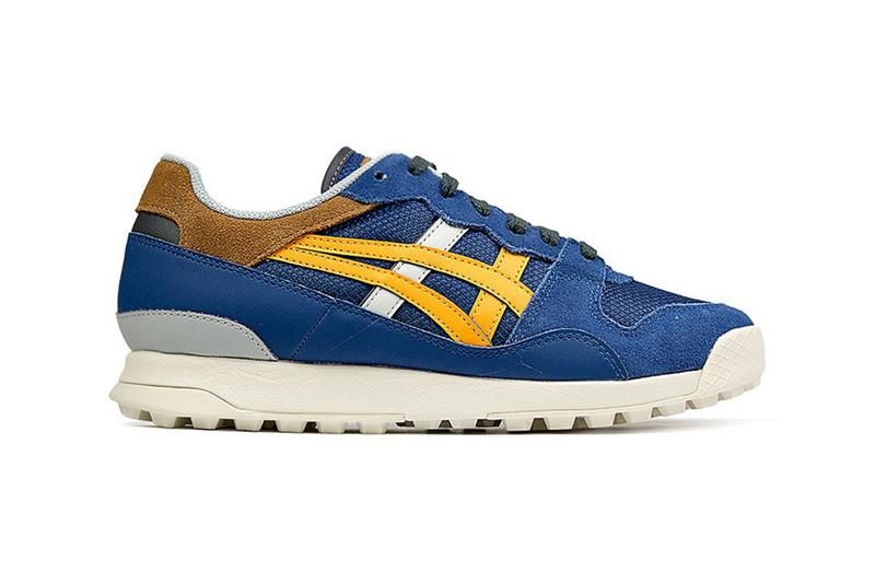 onitsuka tiger horizonia midnight blue citrus colorway sneaker shoe release eleven store