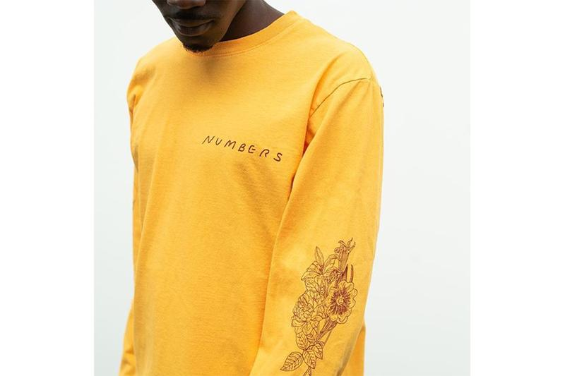 Numbers Othelo Gervacio Dover Street Market New York Spring Summer 2019 SS19 Hoodies Skateboards Artwork Long Sleeve T-Shirts Capsule Collection