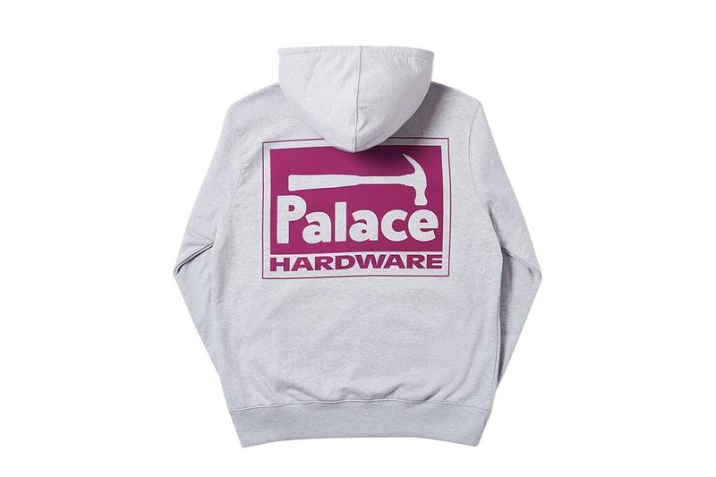 Every Palace Piece Dropping on April 5 Skateboards Cop Purchase Buy Streetwear Fashion Clothing Jackets Hoodies Sweatshirts Pants Trousers Caps Accessories London Brewer St New York