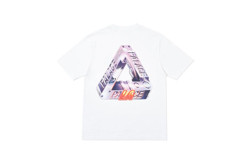 Palace LA Exclusive Capsule spring summer 2019 t-shirts hoodies hats stickers wet suits surfing skate decks sticker sunglasses
