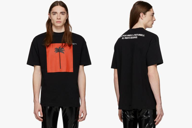Palm Angeles 'Palm x Palm' SSENSE Exclusives T-shirts hoodies sweatshirt red palm tree logo 192695M213026 192695M213027 192695M213024 logo embroidery spring summer 2019 ss19 collaboration