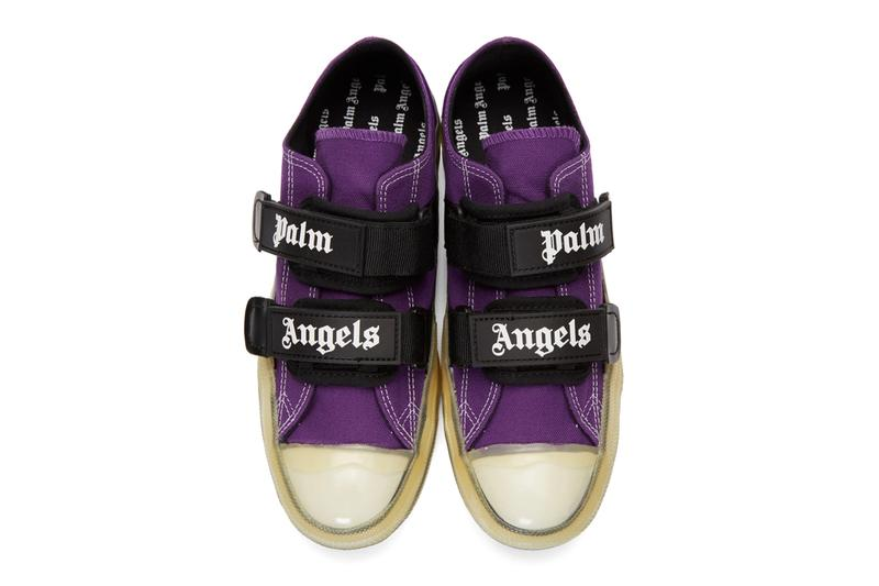 Palm Angels Vulcanized Sneakers SSENSE