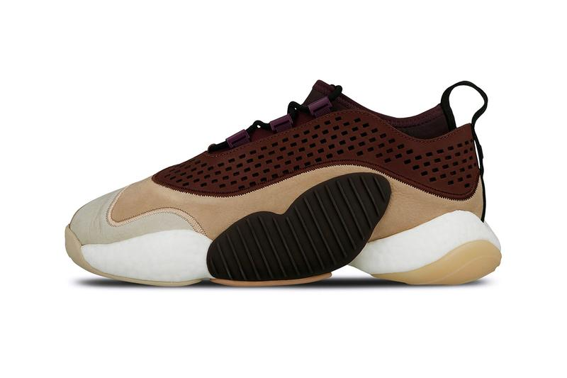 08e3106eb6098 adidas Consortium Crazy BYW Low Release Info drop date pricing price Ash  Pea Deep Purple Night