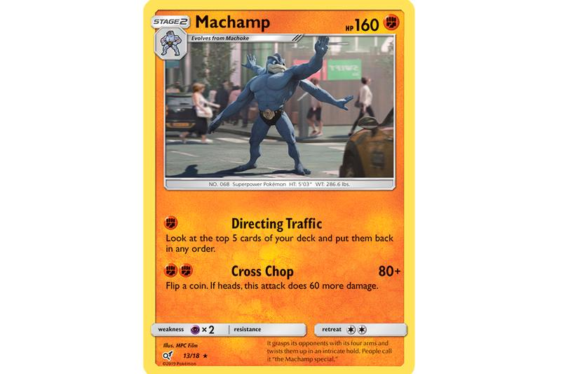 'Detective Pikachu' New Trading Cards booster pack charizard mewtwo ryan reynolds The Pokémon Company