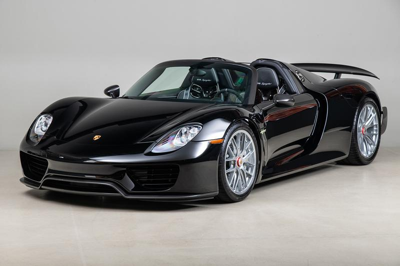 This Rare Porsche 918 Spyder Weissach Package Edition Is up for Sale & Almost Unused