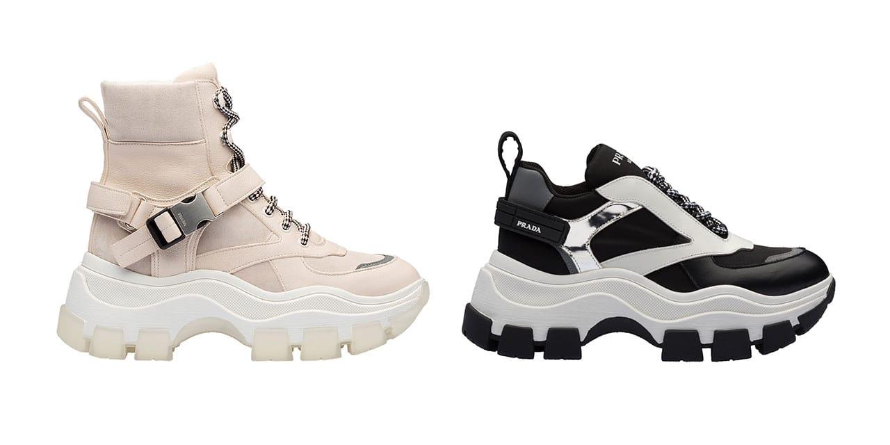 Prada Pegasus Women's Chunky Shoe