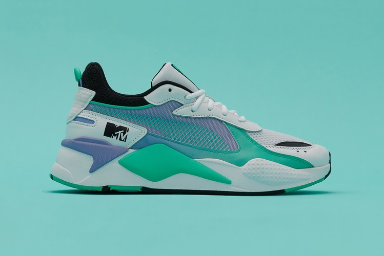 """0d1f2ec4a The Heyday of Music Television Returns With PUMA s RS-X Track """"MTV"""""""