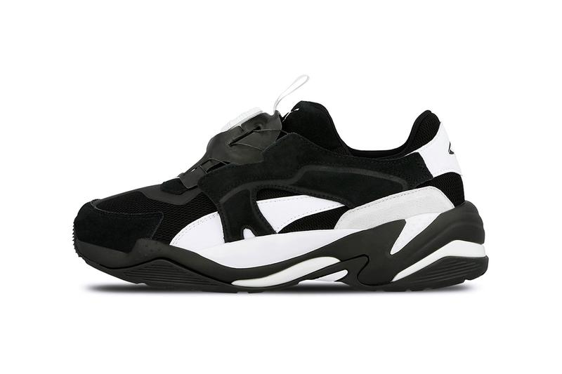767a4884fec Puma Thunder Disc Spectra Black White Technology Sole Swap Spring Summer  2019 Footwear Blaze New Concept