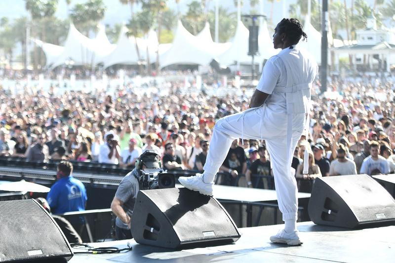 PUSHA T Teases Upcoming adidas Ozweego Collab coachella white leather Nose Candy Mandy