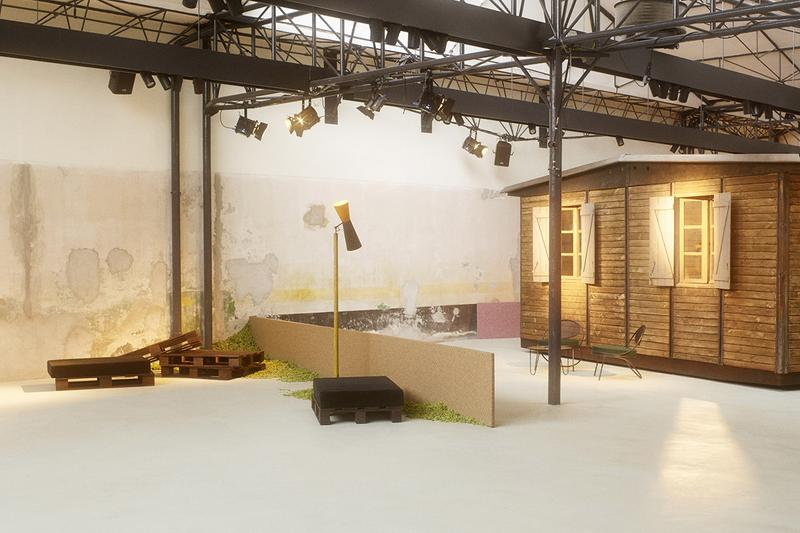 Raf Simons x Kvadrat Collection Milan Release Salone del Mobile SS19 Spring Summer 2019 Garage 21 Installation Space Milan Design Week No Man's Land
