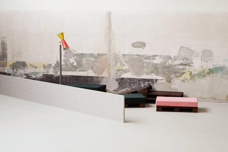Raf Simons x Kvadrat Collection Milan Release Salone del Mobile SS19 Spring Summer 2019 Garage 21 Installation Space Milan Design Week No Man's Land