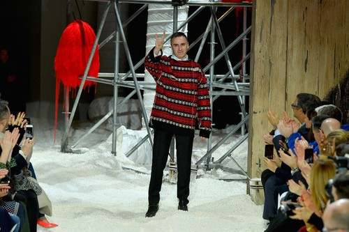 Raf Simons Discusses His Post-Calvin Klein Plans in New Interview
